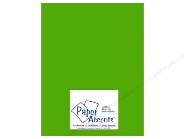 Paper Accents Vellum 8 1/2 x 11 in. #988 Kiwi (25 sheets)