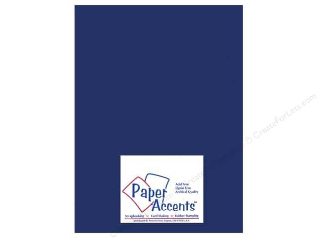 Vellum 8 1/2 x 11 in. #990 Sapphire by Paper Accents (25 sheets)