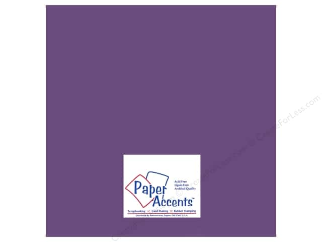 Paper Accents Pearlized Paper 12 x 12 in. #8811 Blackberry Cordial (25 sheets)