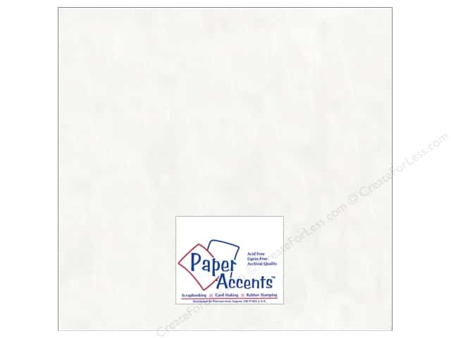 Glassine Paper 12 x 12 in. by Paper Accents White (25 sheets)