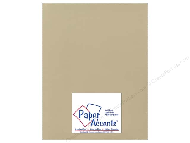 Cardstock 8 1/2 x 11 in. Ultra Matte Fawn by Paper Accents (25 sheets)