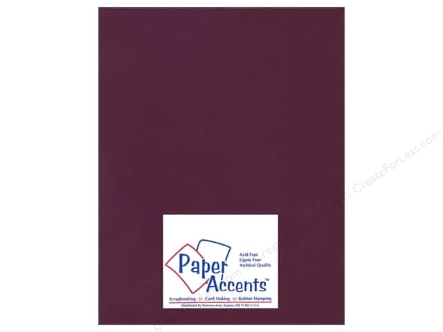 Cardstock 8 1/2 x 11 in. Ultra Matte Huckleberry by Paper Accents (25 sheets)
