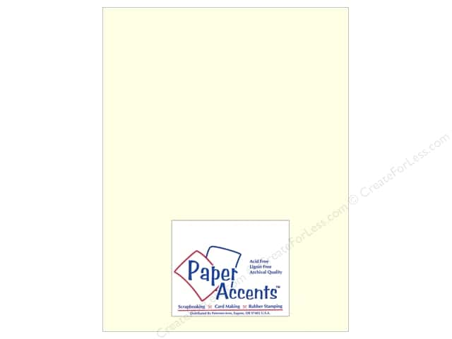 Paper Accents Pearlized Paper 8 1/2 x 11 in. #884 Cream (25 sheets)