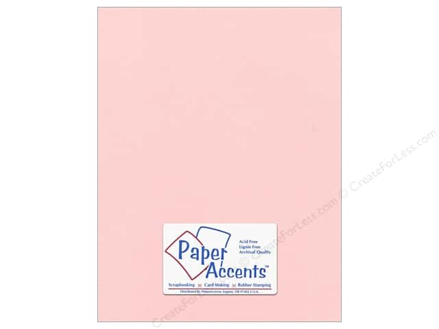 Pearlized Paper 8 1/2 x 11 in. #870C Primrose by Paper Accents 5 pc.