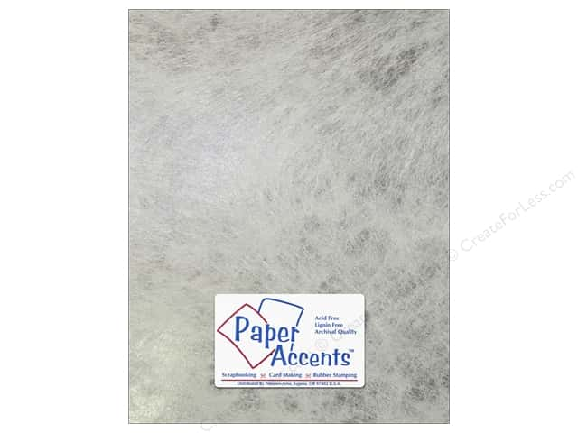Cardstock 8 1/2 x 11 in. #8851 Spun Silk Silver by Paper Accent 5 pc.