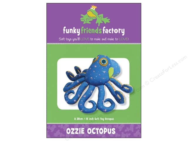 Funky Friends Factory Ozzie Octopus Pattern