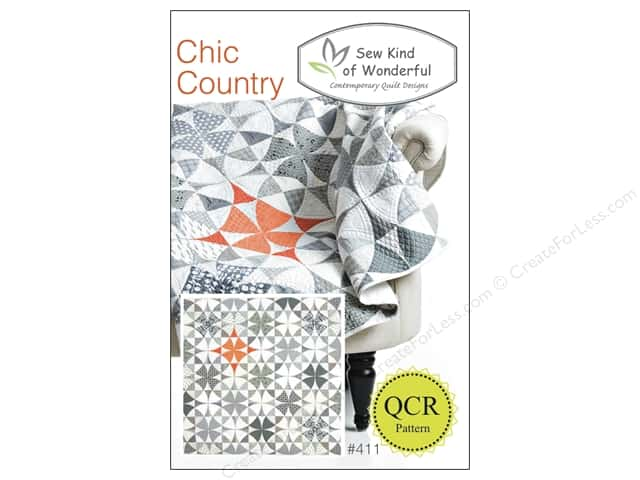 Sew Kind Of Wonderful QCR Chic Country Pattern