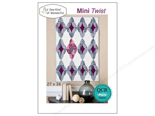 Sew Kind Of Wonderful QCR Mini Twist Pattern
