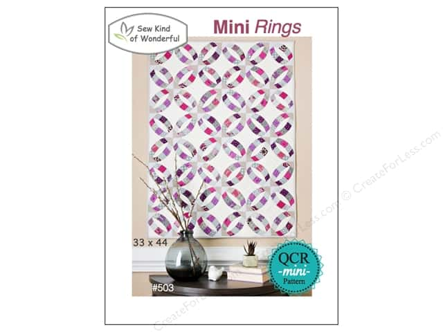Sew Kind Of Wonderful QCR Mini Rings Pattern