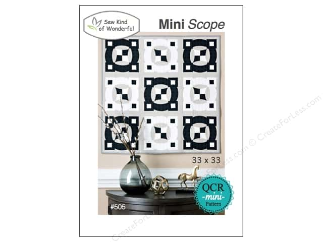 Sew Kind Of Wonderful QCR Mini Scope Pattern