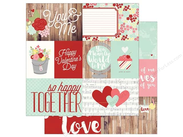 Simple Stories 12 x 12 in. Paper You & Me Elements 1 (25 sheets)