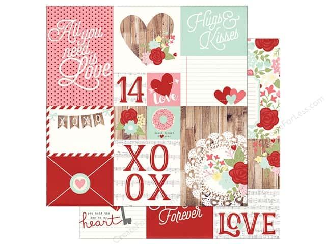 Simple Stories 12 x 12 in. Paper You & Me Elements 2 (25 sheets)