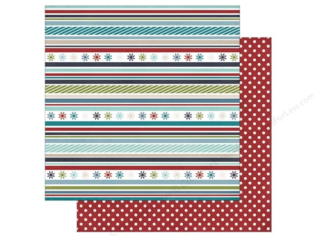 Simple Stories 12 x 12 in. Paper Snow Patrol Frosty Fun (25 sheets)
