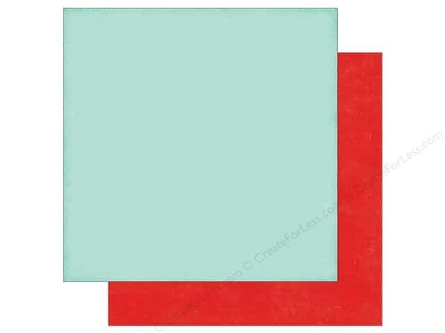 Echo Park 12 x 12 in. Paper Little Man Collection Light Blue/Red (25 sheets)