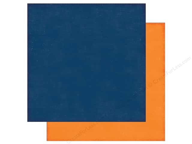 Echo Park 12 x 12 in. Paper Little Man Collection Blue/Orange (25 sheets)