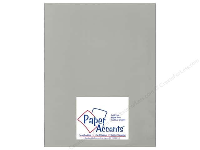 Cardstock 8 1/2 x 11 in. Ultra Matte Taupe by Paper Accents (25 sheets)