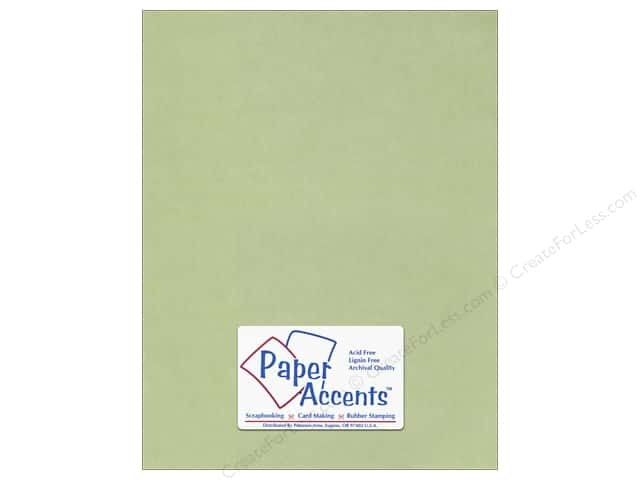 Vellum 8 1/2 x 11 in. #904 Leaf Green by Paper Accents 5 pc.