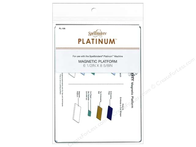 Spellbinders Accessories Platinum Magnetic Platform