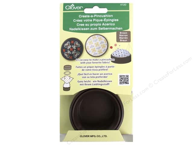 Clover Create-a-Pincushion Brown