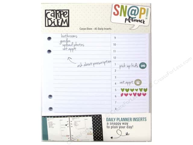 Simple Stories Collection Carpe Diem Snap Daily Inserts