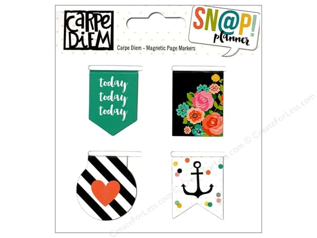 Simple Stories Collection Carpe Diem Snap Marker Magnetic Page