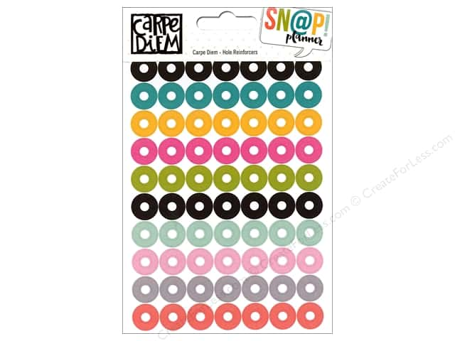 Simple Stories Collection Carpe Diem Snap Sticker Hole Reinforcer