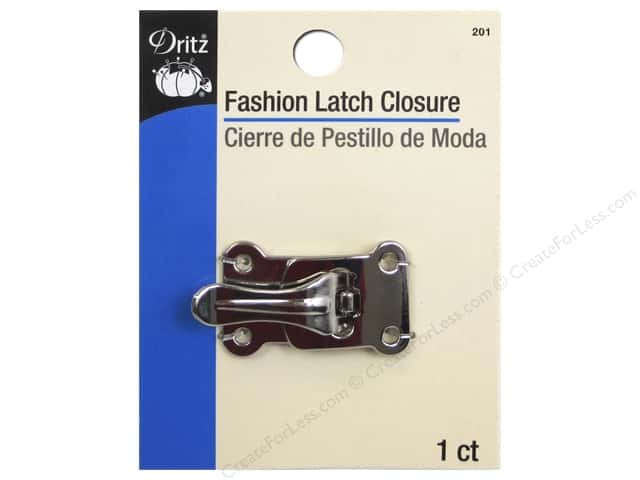 Dritz Buckle Fashion Latch Closure Nickel