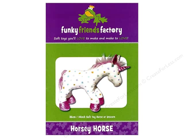 Funky Friends Factory Horsey Horse/Unicorn Pattern