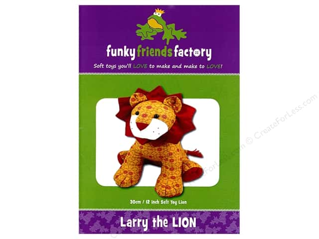 Funky Friends Factory Larry The Lion Pattern