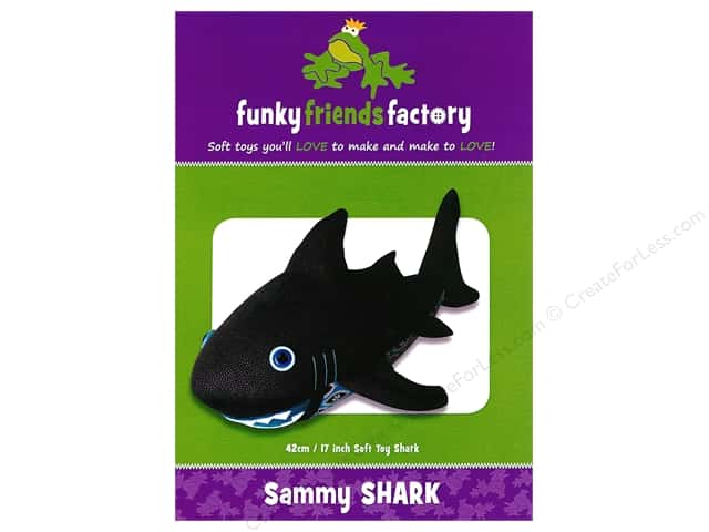 Funky Friends Factory Sammy Shark Pattern