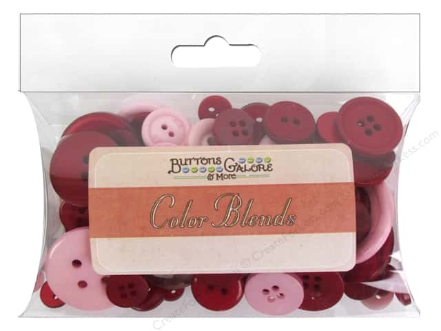 Buttons Galore Button Color Blends 3 oz. Cherries Jubilee