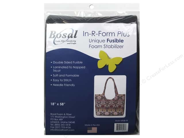 Bosal In R Form Plus Fusible Foam Stabilizer 18 X 58 In