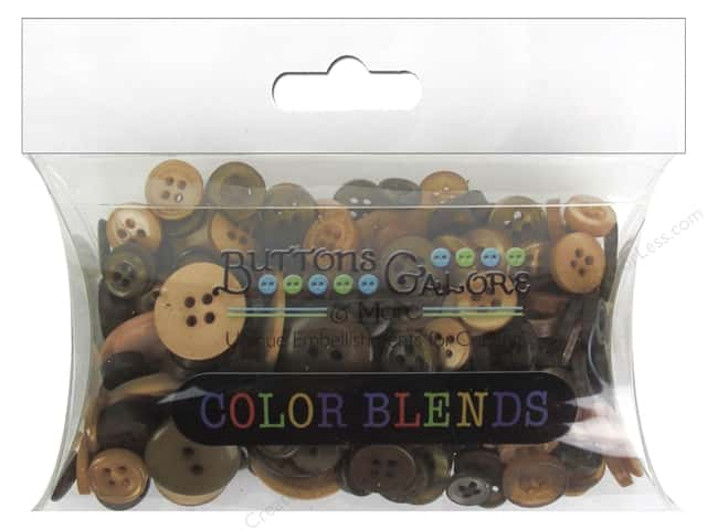 Buttons Galore Button Color Blends 3 oz. Latte