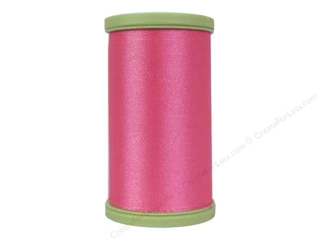 Coats Trilobal Polyester Embroidery Thread  600 yd. #1495 Medium Coral