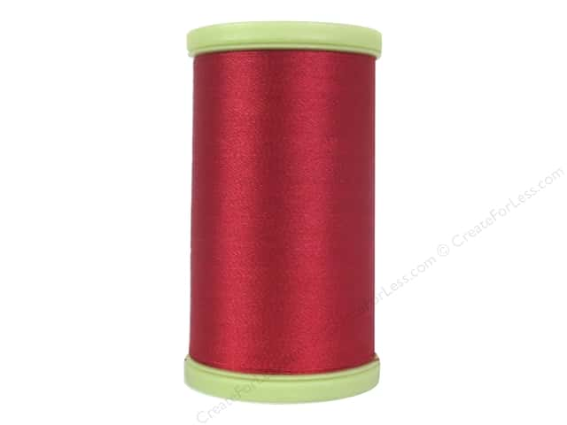 Coats Trilobal Polyester Embroidery Thread  600 yd. #2250 Red