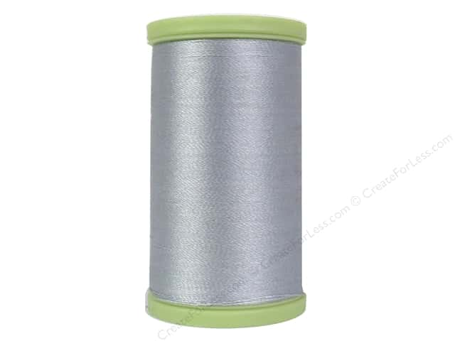 Coats Trilobal Polyester Embroidery Thread  600 yd. #230 Silver