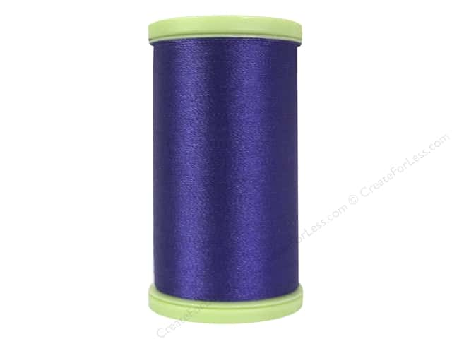 Coats Trilobal Polyester Embroidery Thread  600 yd. #3690 Purple