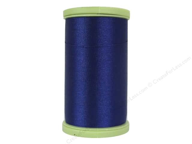 Coats Trilobal Polyester Embroidery Thread  600 yd. #4470 Yale Blue