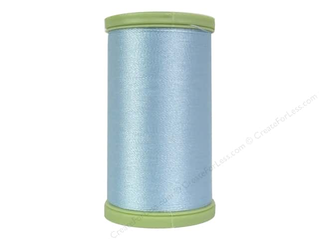 Coats Trilobal Polyester Embroidery Thread  600 yd. #5420 Blue Aqua