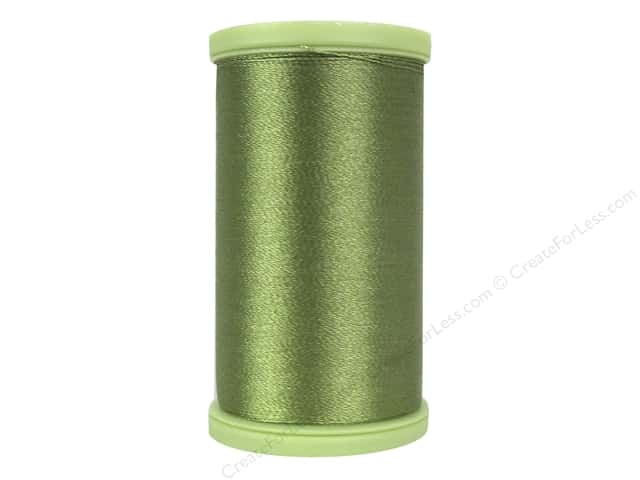 Coats Trilobal Polyester Embroidery Thread  600 yd. #6220 Okra