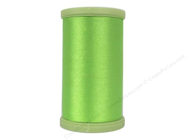 Coats Trilobal Polyester Embroidery Thread  600 yd. #9265 Neon Green
