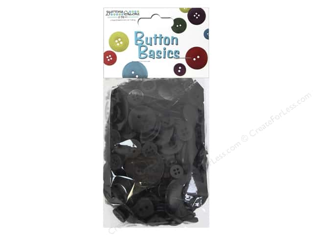 Buttons Galore Button Candy Bags 5.5 oz. Licorice