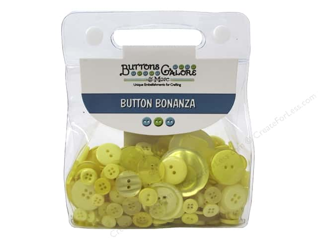 Buttons Galore Button Bonanza 1/2 lb. Sunshine