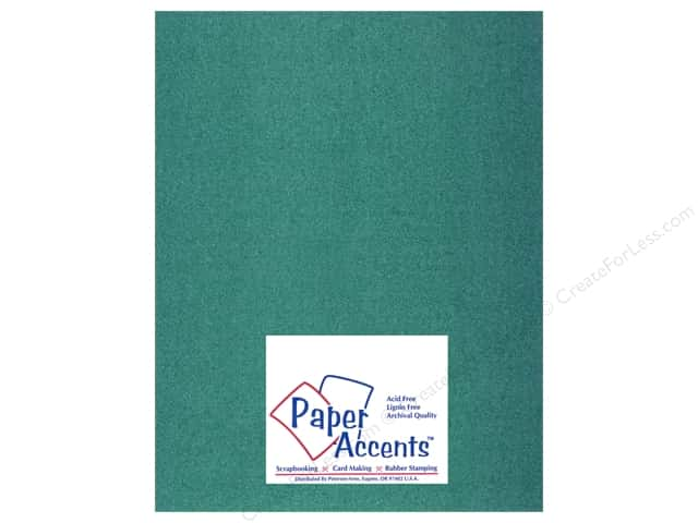 Paper Accents Pearlized Paper 8 1/2 x 11 in. #879 Emerald (25 sheets)