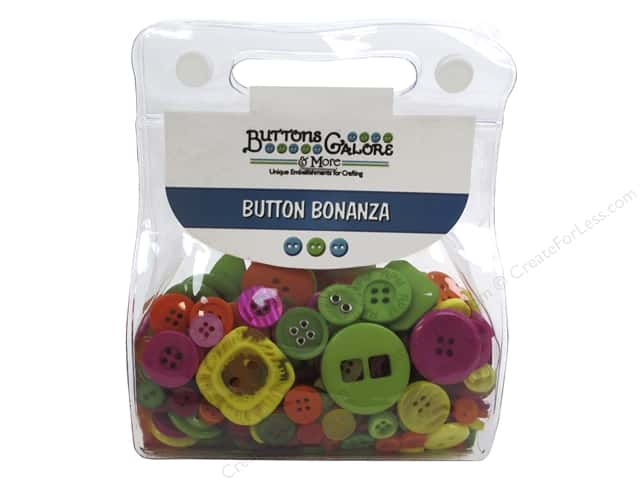 Buttons Galore Button Bonanza 1/2 lb. Fiesta