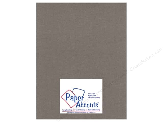 Cardstock 8 1/2 x 11 in. Glimmer Barrel Brown by Paper Accents (25 sheets)