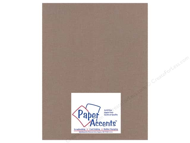 Cardstock 8 1/2 x 11 in. Glimmer Burley Wood by Paper Accents (25 sheets)
