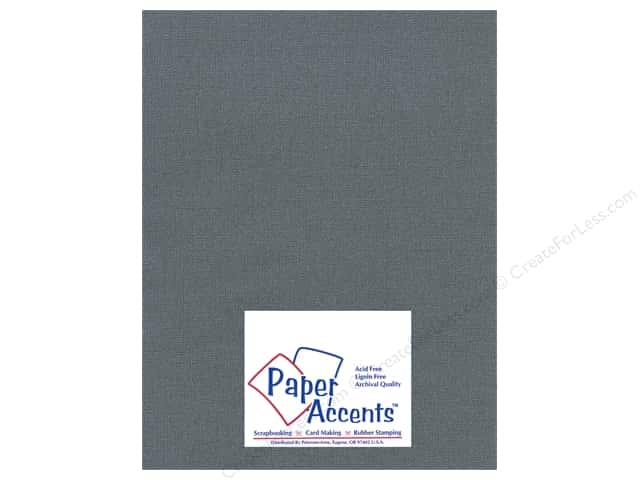 Paper Accents Cardstock 8 1/2 x 11 in. #2101008 Glimmer Black Bear (25 sheets)