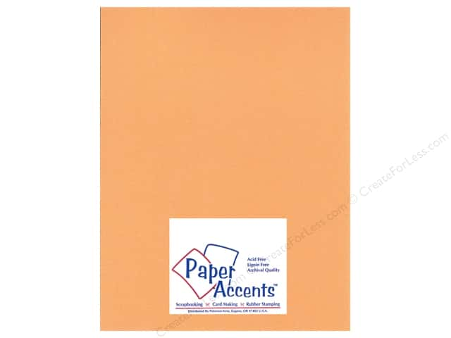 Paper Accents Cardstock 8 1/2 x 11 in. #23303 Glimmer Carrot Stick (25 sheets)