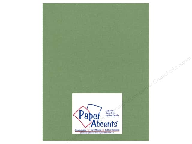 Cardstock 8 1/2 x 11 in. Glimmer Fern by Paper Accents (25 sheets)